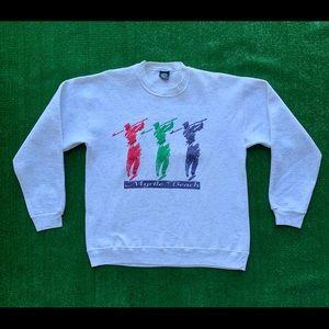 Vintage 90s Myrtle Beach Golf Spellout Sweatshirt